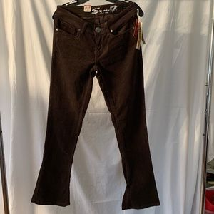 7 for all mankind slim corduroy pants NWT 8P